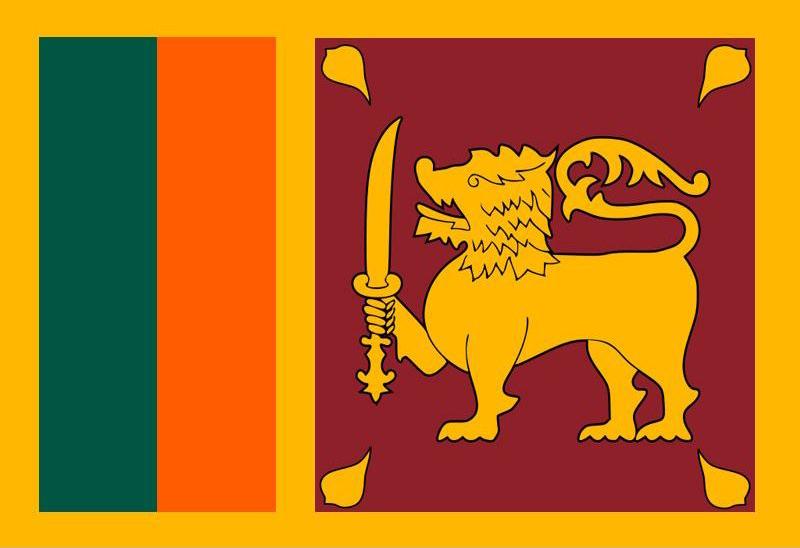 Sri-Lanka Flagge